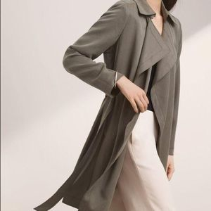 Black Babaton Maximo Trench Coat